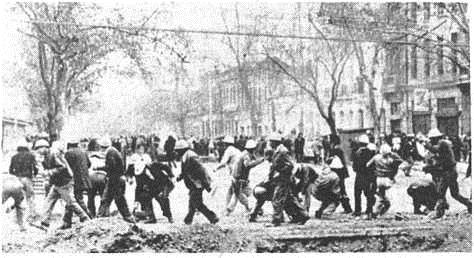 Frequent and violent clashes among Chileans occurred as the Allende Regime promoted the class struggle.